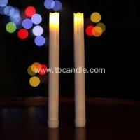 Buy cheap Smooth flameless real wax LED taper candle from wholesalers