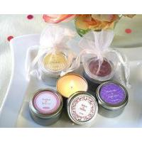 Buy cheap Wholesale tin box round scented candles natural soy wax tin candle 6*4cm Height XM-T005 from wholesalers