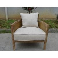 Buy cheap French country style furniture upholstery rattan cane design solid wood chair from wholesalers