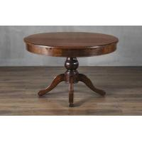Buy cheap Modern Solid Wood Dining Room Elastic Round Table, Flod Wood Dining Table Designs for sale from wholesalers