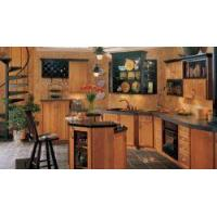 Buy cheap Black Accents Kitchen Cabinets from wholesalers