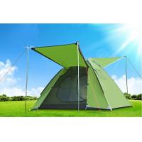 Buy cheap Large Space 3-4 Persons Double Layer Rainproof Hand Throw Tents Flysheet: 190T PU 3000mm from wholesalers
