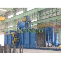 Buy cheap Tunnel Type Blasting Roller Conveyor Shot Blasting Machine from wholesalers