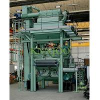 Buy cheap Tunnel Type Blasting Strip Descaline Shot Blasting Machine from wholesalers
