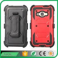Buy cheap For Samsung J1 2016/J120 Rugged Armor Case Holster KickStand Belt CLip Protective Cover from wholesalers