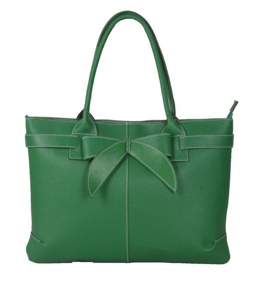 popular images of wholesale green bowknot design bags