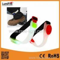 Buy cheap Lumifire Outdoor Sport flashing light warning triangle for Jogging Walking Running from wholesalers