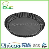 Buy cheap Non-stick Carbon Steel Disposable Quiche Pan With Lace from wholesalers