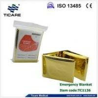 Buy cheap Gold Color Medical Emergency Blanket from wholesalers
