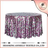 Buy cheap Table Cloth Sequin Embroidered Table Cloth ANNIELU15-TC60 from wholesalers