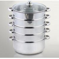 Buy cheap 6pcs 5-tier steamer pot from wholesalers