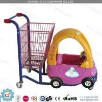 Buy cheap Shopping trolleys Supermarket interesting Kids plastic shopping cart with toy car for children from wholesalers
