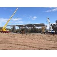 Buy cheap Steel Structure Shed/Space Frame Outdoor Shed/Prefabricated Warehouse product