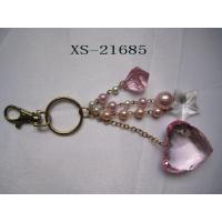 Buy cheap Scarves Keychanis with hearts metal alloy, OEM available from wholesalers