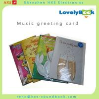 Buy cheap Music Greeting card/Sound Chip from wholesalers