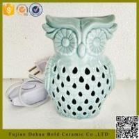 Buy cheap best selling products wholesale porcelain aroma electric owl oil burner from wholesalers