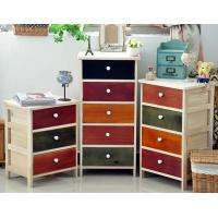Buy cheap wooden cabinet 801051 3-5 Drawers kitchen cabinet antique wood furniture from wholesalers