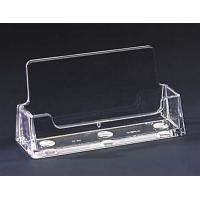 Buy cheap Stand Up Acrylic Sign Holder with business card holder from wholesalers
