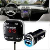 Buy cheap Bluetooth Wireless FM Transmitter Modulator USB LCD Magnetic MP3 Player Car Kit from wholesalers