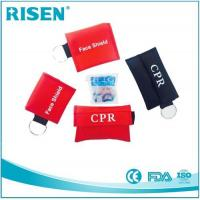 Buy cheap Wholesale factory Mini CPR Pocket Mask CPR Face Shield One Way Valve from wholesalers