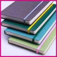 Buy cheap Custom PU cover notebook with pocket inside from wholesalers