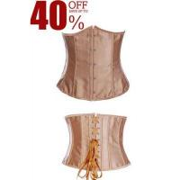 Buy cheap Sexy Brown Plus Size Underbust Waist Training Corset from wholesalers
