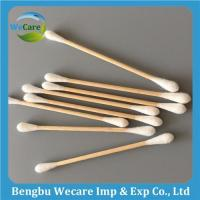 Buy cheap Disposable Wooden Stick Cotton Buds from wholesalers
