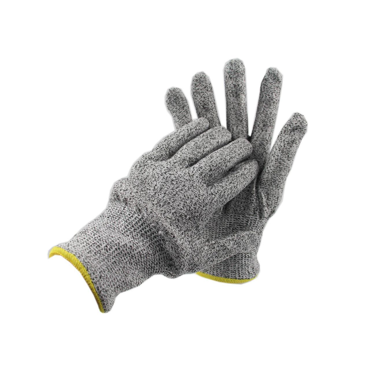 Buy cheap 18 gauge HPPE Safety Level 4 Cut Resistant Gloves from wholesalers