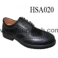 Showcase Product manager/officer/engineers uniform style leather safety shoes