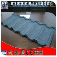 Stone chip coated steel roofing tile production line
