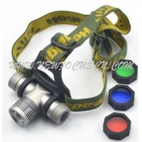 Buy cheap High power adjustable zoom CREE Q5 LED Headlamp 3 x AAA battery or 1 x 18650 battery (Y-H005W) from wholesalers