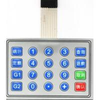 Buy cheap Tactile membrane switch panel from wholesalers