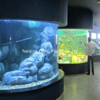 Buy cheap columnar acrylic tank from wholesalers