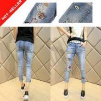 Buy cheap (#5053 ) 2016 dropship clothing xxx 99 fading denim wholesale jeans women mumbai Quality Choice from wholesalers