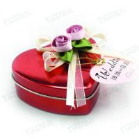 Buy cheap romantic wholesale heart chocolate tin box manufacture from wholesalers