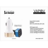 4.2 A Intelligent Dual Port USB Car Charger For Apple / Android / Samsung Mobile Phone