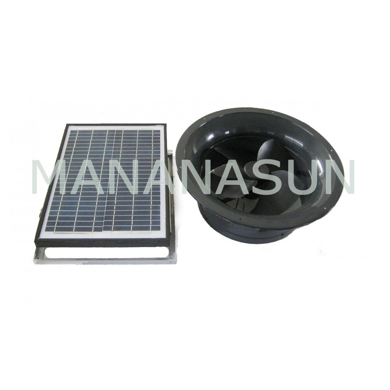 Buy cheap 20W Solar Gable Fan from wholesalers