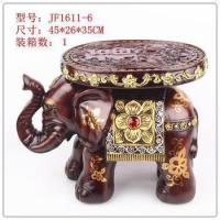 Buy cheap high quality Resin elephent stool, polyresin elephant figurines, elephant home decoration from wholesalers