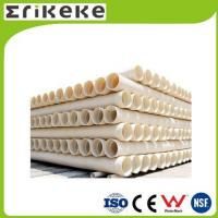 Buy cheap PVC pipe and fittings Wholesale corrugated drain pipe double wall pvc pipe from wholesalers