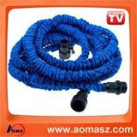 Buy cheap Fabric Flat Water Hose Double Latex Expandable Garden Hose from wholesalers