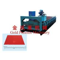 Buy cheap Color steel equipment Type 850 water ripple tamping plant for color steel from wholesalers