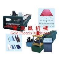 Buy cheap Color steel equipment Tamping plant for roller shutter door from wholesalers