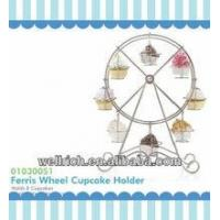Buy cheap cake carrier Ferris Wheel Cupcake Holder 01030051 Chef Baking from wholesalers