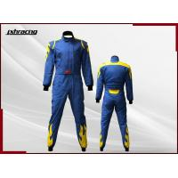 Buy cheap SFI Rated 2 Layer One Piece Flame Retardant Car Racing Suit RB-CR027 from wholesalers