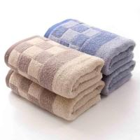 Buy cheap soft skin cotton towel bath towel beach towel for home from wholesalers