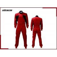 Buy cheap sfi rated 2 layers one piece flame retardant car racing suit RB-01002 from wholesalers