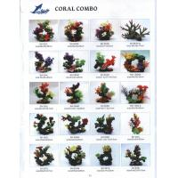 Buy cheap aquarium artificial coral for fish tank from wholesalers