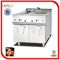 Buy cheap Commodity:2-tank fryer(2-basket) with cabinet from wholesalers