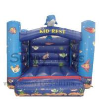 Buy cheap Inflatable Bouncers HW582(3*4*2.5m) fish jumping bouncer from wholesalers