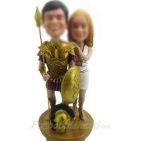 Buy cheap professional Custom bobbleheads of Warrior from wholesalers
